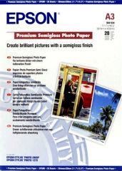EPSON PREMIUM semi brillant photo papier inkjet 251g/m2 A3 20 feuilles pack de 1