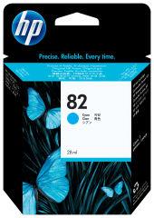 HP 82 original cartouche d encre cyan capacité standard 69ml pack de 1
