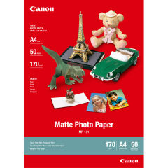 CANON MP-101 matte photo  papier 170g/m2 A4 50 feuilles pack de 1