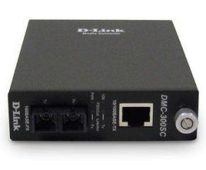D-LINK CONVERTISSEUR 10/100BASE-TX VERS 100BASE-FX (CONNECTEUR SC MULTIMODE