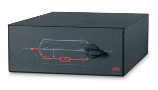 APC ServiceBypassPanel SU RT7500 10000VA Black 4U Rack/Tower Convertible