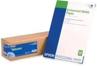 EPSON S041595 Enhanced matte  papier inkjet 189g/m2 610mm x 30.5m 1 rouleau pack de 1