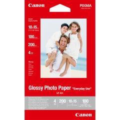 CANON GP-501 brillant photo  papier inkjet 210g/m2 4x6 inch 100 feuilles pack de 1