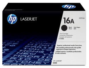 HP 16A LaserJet original cartouche de toner noir capacité standard 12.000 pages pack de 1