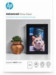 HP Q8691A Advanced brillant photo  papier inkjet 250g/m2 100x150mm 25 feuilles pack de 1 borderless