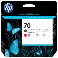 HP 70 original tête d impression noir et rouge capacité standard