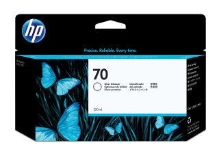 HP 70 original cartouche d encre renforceur de l effet brillant capacité standard 130ml pack de 1 avec d encre Vivera