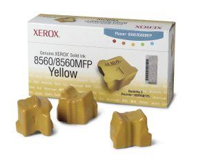 XEROX PHASER 8560, 8560MFP colorstix jaune capacité standard 3 x 1.000 pages pack de 3