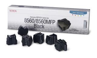 XEROX PHASER 8560, 8560MFP colorstix noir capacité standard 6 x 1.000 pages pack de 6
