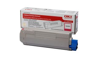 OKI C5850, C5950 cartouche de toner magenta capacité standard 6.000 pages pack de 1