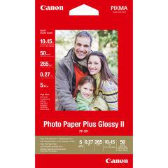 CANON PP-201 plus photo  papier inkjet 260g/m2 4x6 inch 50 feuilles pack de 1