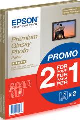 EPSON PREMIUM brillant photo  papier inkjet 255g/m2 A4 2x15 feuilles pack de 1 BOGOF