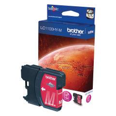 BROTHER LC-1100 cartouche d encre magenta haute capacité 16ml 750 pages pack de 1