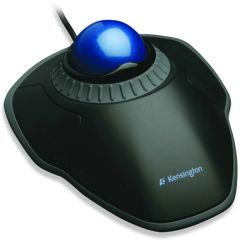 Trackball Orbit® avec molette de défilement Scroll Ring - Noir