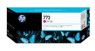 HP 772 original cartouche d encre magenta capacité standard 300ml pack de 1