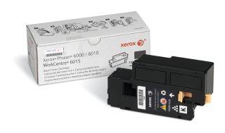 XEROX PHASER 6000, 6010, 6015 cartouche de toner noir capacité standard 2.000 pages pack de 1