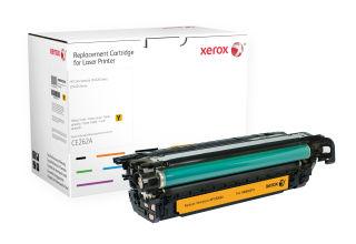 XEROX XRC TONER HP CLJ series CP4025 Jaune CE262A Autonomie 12800 impressions