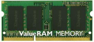 KINGSTON ValueRAMDDR3 8 Go SODIMM 204 broches 1333 MHz / PC310600 CL9 1.5 V NON ECC
