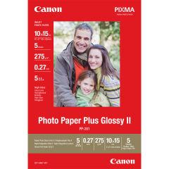 CANON PP-201 brillant photo  papier 10x15cm 5 feuilles