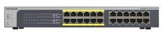 NETGEAR Switch PoE configurable ProSAFE Plus JGS524PE -24 ports 10/100/1000 RJ45 PoE - rackable