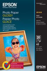 EPSON PHOTO  papier brillant A3 20 feuilles pack de 1