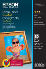 EPSON PHOTO  papier brillant 200g/m2 130x180mm 50 feuilles pack de 1