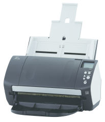 FUJITSU fi-7160 Scanner A4 USB 3.0 60ppm 80Sheet ADF PaperStream IP TWAIN ISIS iSOP Paper Protection ScanSnap Manager