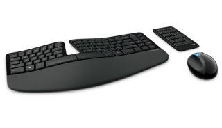 MS Sculpt Ergonomic Desktop ensemble clavier souris wireless et pave numerique wireless