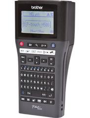 BROTHER PTH500YP Etiqueteuse portable et connectable avec clavier AZERTY. jusqu a 7 lignesd impression. 30mm/sec.