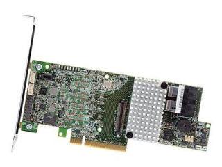 INTEL Raid Controller RS3DC040 Mainstream 1GB DDR3  Low Profile 4 internal ports Intelligent RAID 0,1,5,10,50,60 SAS & SATA single
