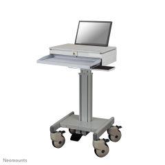 NEWSTAR MED-M100 - Chariot pour Ordinateur portable / clavier / souris - médical - gris - Taille ecran : jusqu a 22 pouces