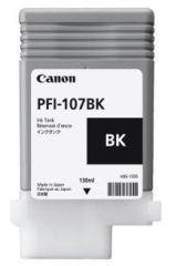 CANON PFI-107BK cartouche d encre noir capacité standard 130ml pack de 1