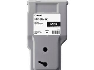 CANON PFI-207MBK cartouche dencre noir mat capacité standard 300ml pack de 1