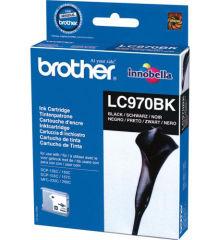 BROTHER LC-970 cartouche encre noir capacité standard 350 pages 1-pack blister sans alarme