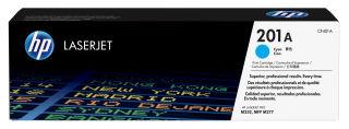 HP 201A Cartouche de toner cyan 1.400 pages capacite standard