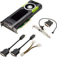 PNY QUADRO M5000 Carte graphique QUADRO M5000 8 Go GDDR5 PCI Express 3.0 x16 DVI 4 x DisplayPort