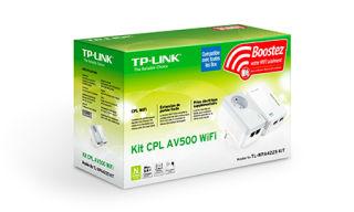 TP-LINK AV500 2-port Powerline WiFi Extender KIT including 1 TL-WPA4220  and 1 TL-PA4025P 500Mbps Powerline datarate 300Mbps