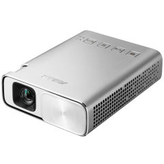 ASUS ZenBeam E1 Portable LED Projector/ 150 lumens/ Built-in 6000mAh battery/ 5 hour long projection/ Power bank