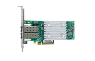 FUJITSU FC Controller EP QLE2692 2x16Gbit/s Qlogic 2channel PCIe 3.0 x8 with Full Height bezel Low-Profil bezel enclosed