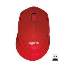LOGITECH M330 Silent Plus Red - 2.4GHZ - EMEA
