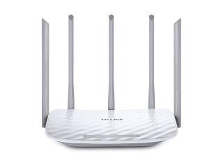 TP LINK AC1350 Routeur Dual Band WiFi Qualcomm 867Mbps at 5GHz + 450Mbps at 2.4GHz 802.11ac/a/b/g/n 1 10/100M WAN + 4 10/100M LAN Wi