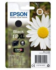 EPSON 18XL cartouche encre noir haute capacité 11.5ml 470 pages 1-pack RF-AM blister