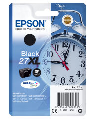 EPSON 27XL cartouche d encre noir haute capacité 17.7ml 1.100 pages 1-pack blister sans alarme - DURABrite ultra encre