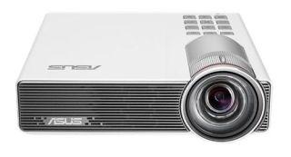 ASUS P3B Portab LED Projector/WXGA/1280x800/800 lumens/0.8x1-HDMI/MHL/Multimedia player/USB MICRO SD/battery in/Speaker-Blanc 2 ans