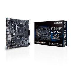 ASUS PRIME A320M-K AMD A320 2xDDR4 M.2 4xSATA3 skAM4 VGA/HDMI USB3.0 mATX
