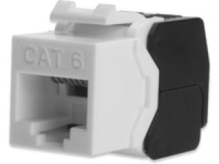 DIGITUS Module Keystone CAT 6 DIGITUS non blindé RJ45 vers LSA montage sans outil.