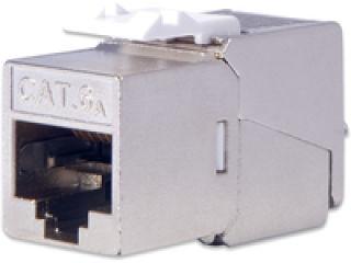 DIGITUS Module Keystone CAT 6A DIGITUS blindé 500MHz conformément à ISO/IEC 60603-7-51.11801 AMD2:2010-04 sans outil Montage kit