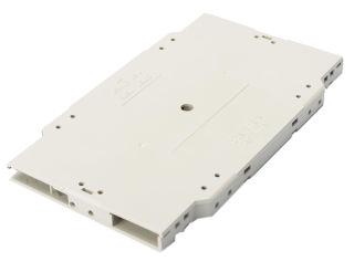 DIGITUS Cassette à fibre optique DIGITUS Couvercle et support d'épissure 2x 12C pour sertissage inclus Polysac
