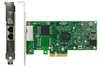 LENOVO ISG ThinkSystem Intel I350-T2 PCIe 1Gb 2-Port RJ45 Ethernet Adapter