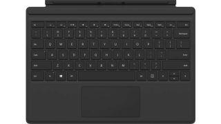 MS Surface Pro 4 Type Cover Commercial SC Hardware Black English International Belgium/Netherlands (BE/NL)(P)